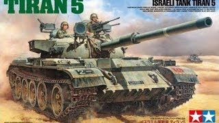 In Box Review 1/35 Tamiya Tiran 5 Israeli Tank
