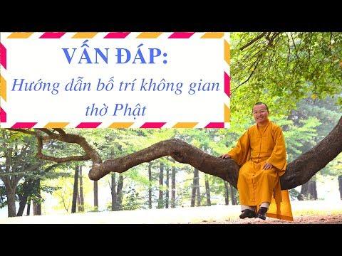 Hướng dẫn bố trí không gian thờ Phật