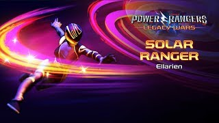 Power Rangers: Legacy Wars (BOOM! Comics) Ellarien  - First Solar Ranger  (Moveset)