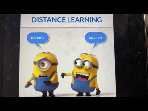 Distance learning minions