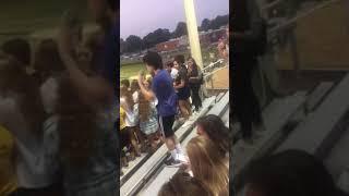 Kid Tweaking Of Meth At High School Football Game