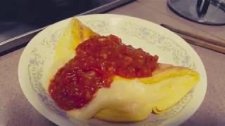 SOUFFLE OMELETTE FROM SHOKUGEKI NO SOMA (FOOD WARS)