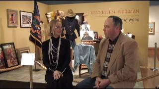 Artist at Work - Seth Hopkins and Bonnie Adams Discuss the Museum Exhibition