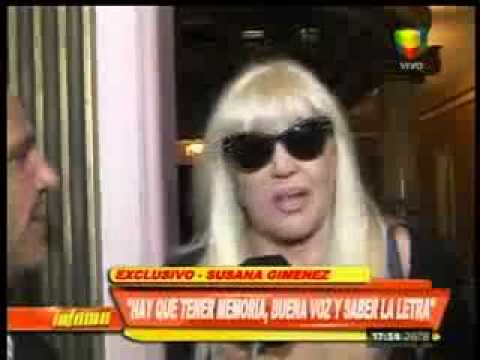Susana Giménez habló sobre su debut teatral: Estoy un poco nerviosa