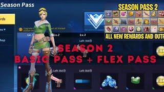 Creative Destruction - Season 2 Basic Pass & Flex Pass - Review of all Items!