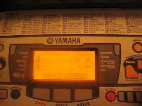 Yamaha Portatone - DJ Game (updated version)