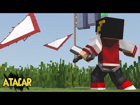 Minecraft: MEGA SKY WARS DELTA - Estão nos ATACANDO! ‹ AM3NIC ›