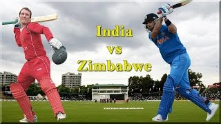 India vs Zimbabwe MATCH HIGHLIGHTS ICC Cricket World Cup 2015