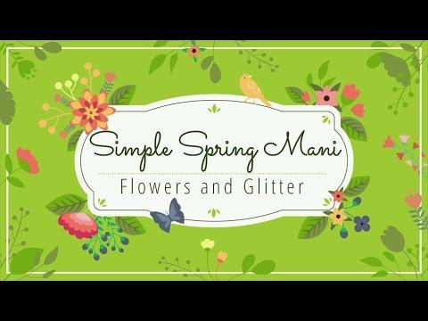 Easy Spring Mani Nail Design