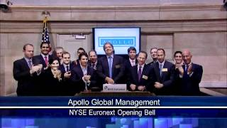 5 April 2011 Apollo Global Managment rang NYSE Opening bell