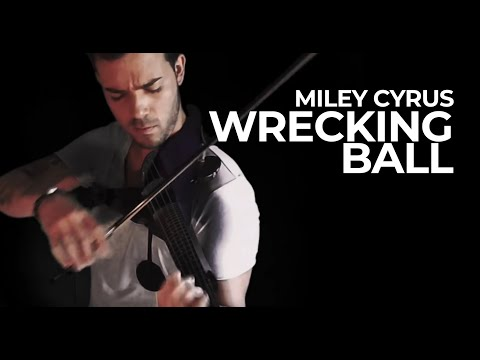 Miley Cyrus - Wrecking Ball (Violin Cover) @MileyCyrus @RobertMendoza_