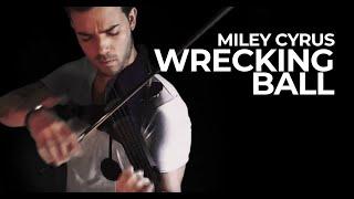 Miley Cyrus - Wrecking Ball (Violin Cover) @MileyCyrus @RobertMendoza_