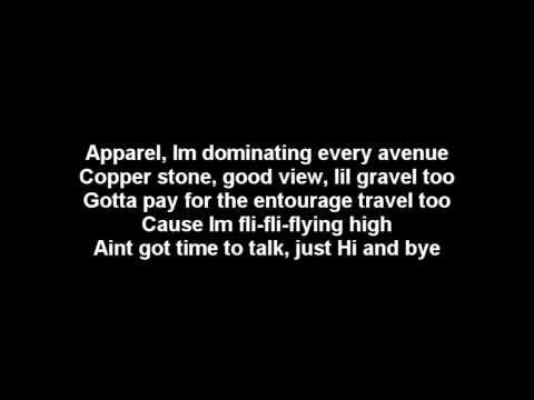 Drake Featuring Nicki Minaj- Im so Proud of You Lyrics on Screen