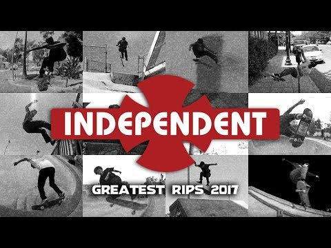 Greatest Rips: 2017 Independent Trucks Team | Year in Review