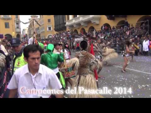 CAMPEONES DEL PASACALLE ESCOLAR DE LIMA 2014