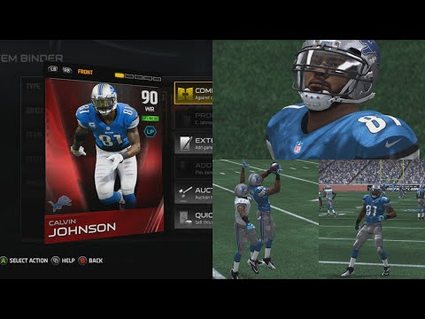 Madden 15 Ultimate Team ELITE Calvin Johnson Review! Madden 15 Ultimate Team Gameplay