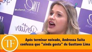 Após terminar noivado, Andressa Suita confessa que
