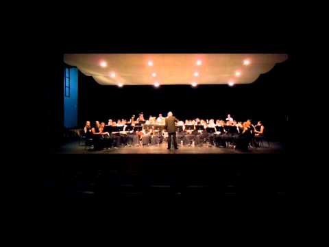 Arlington High School Wind Ensemble - Serenade - MPMEA - March 2013