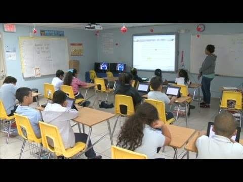 Tabletas electrónicas en las escuelas