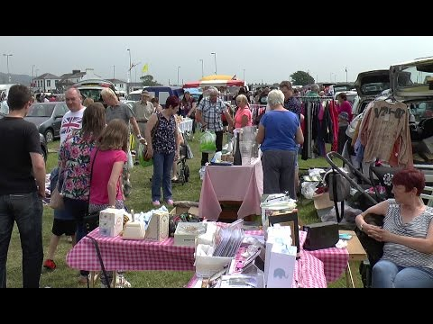 A walk around Burry Port Car Boot sale  4th June 2016