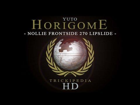 Yuto Horigome: Trickipedia - Nollie Frontside 270 Lipslide