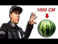NTN   Ninja Ném Hoa Quả Từ Độ Cao 1000 CM (Fruit Ninja Cut All Fruit From 1000cm Hight)