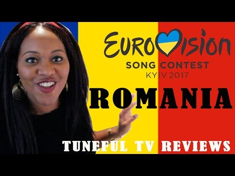 Eurovision 2017 - ROMANIA - Tuneful TV Reaction & Review