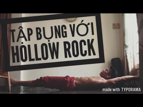 Hướng dẫn tập Hollow Rock - Bài bụng duy nhất để có 6 múi! - Street Workout Lang Hoa