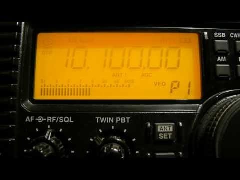 10100 Khz RTTY Weather Forecasts DDK9
