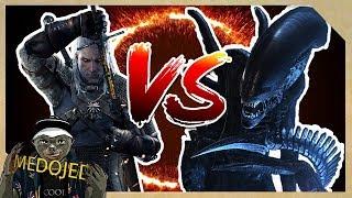 Geralt (zaklínač) VS. Alien - na život a na smrt
