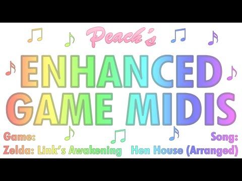 Misc Computer Games - Legend Of Zelda Links Awakening - Sword Search Theme