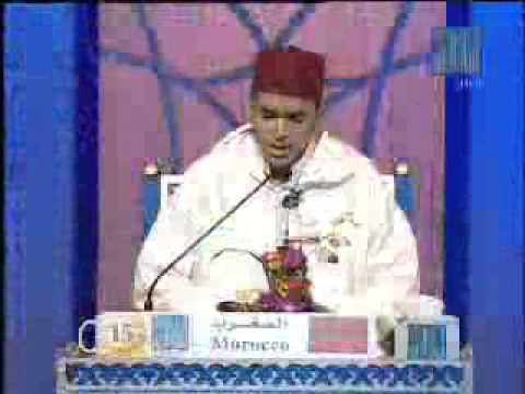 un excelent recitateur marocain Dubai 2011  المغرب