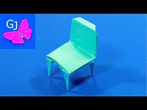Бумажки как сделать стол и стул