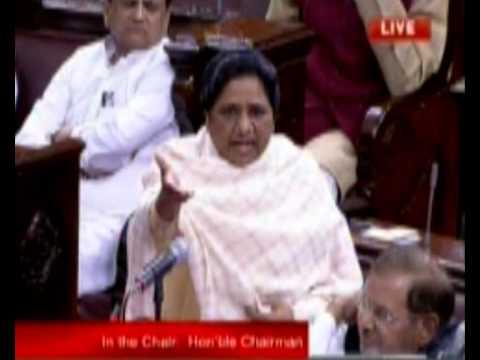 Mayawati's Rajyasabha speech