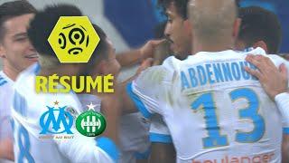 Olympique de Marseille - AS Saint-Etienne (3-0)  - Résumé - (OM - ASSE) / 2017-18