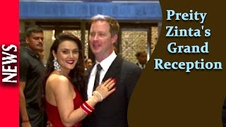 Latest Bollywood News - Bollywood Graces Preity's Reception - Bollywood Gossip 2016
