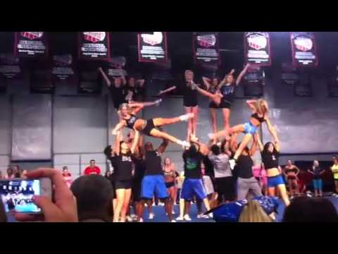 Cheer athletics wildcats 2013