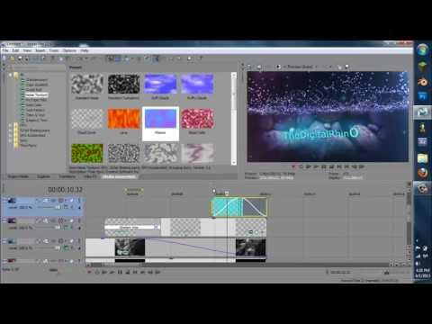 How to Make a Professional Underwater Intro in Sony Vegas Pro 12-8