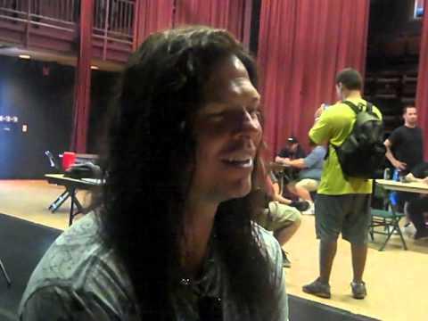 Megadeth guitarist Chris Broderick Interview