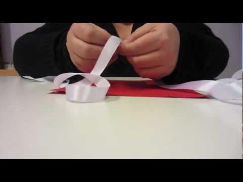 Come fare una rosa con un nastro – Tutorial 2