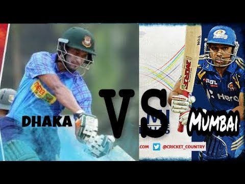 MUMBAI INDIANS VS DHAKA DINAMAIC HIGHLIGHTS