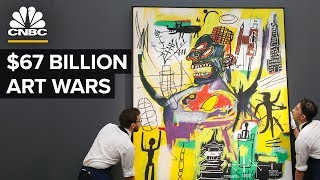 How Two Companies Dominate The $67 Billion Art World