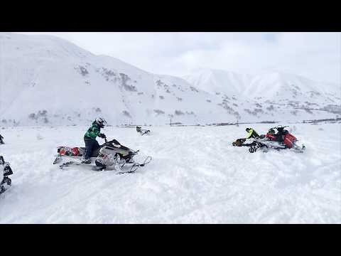 Ямаха Нитро 2018 Камчатка Снежная Долина