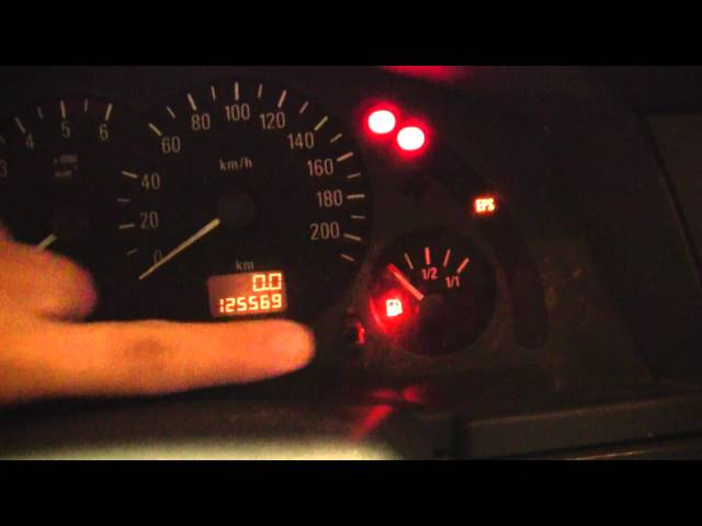 Opel Mervia OBDII - YouTube