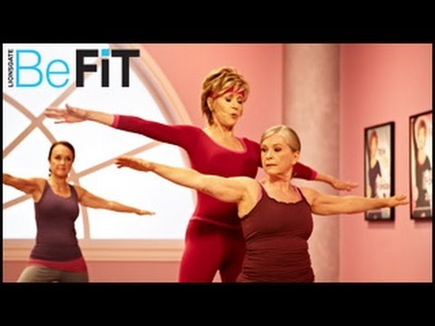 Yoga Energy Booster Workout- AM: Jane Fonda