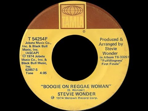 Stevie Wonder ~ Boogie On Reggae Woman 1974 Disco Purrfection Version klip izle