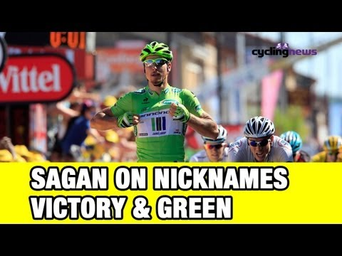 Tour de France 2013: Peter Sagan on his nicknames, victories, and the green jersey