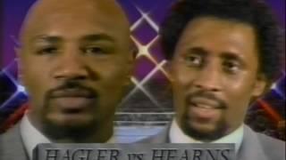 """Hagler vs Hearns - """"The War"""" - 15 April 1985 - Caesars Palace (Full) (HD)"""