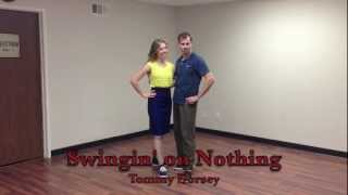 "Jeremy and Laura teach ""Tabby the Cat"" inside Lindy Hop"