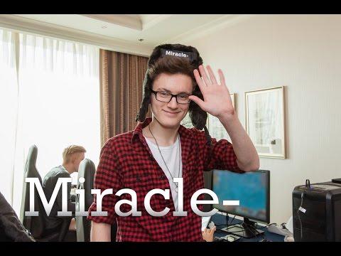 Истории игроков Dota 2(Miracle-)